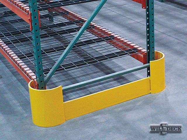 Double-Headed End-of-Aisle Rack Protector