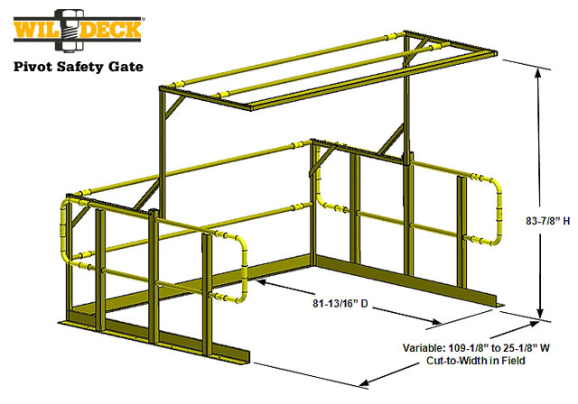 Pivot Gate Specifications Wildeck