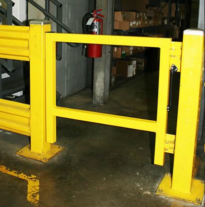 Pedestrian Swing Gate Industrial Safety Gate Wildeck