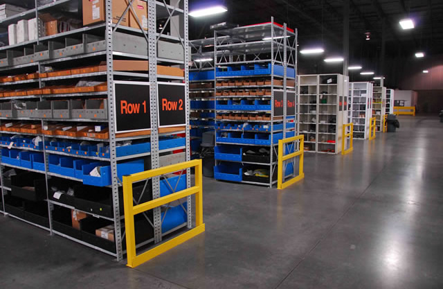 Shelving Guards Rack Protection Wildeck
