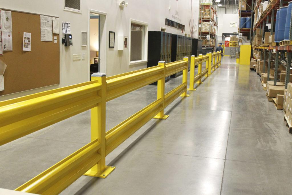 Wilgard xt steel guard rail system wildeck