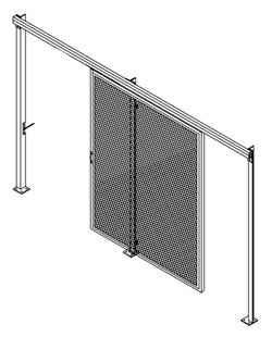 Wildeck-Horizontal-Slide-Gate