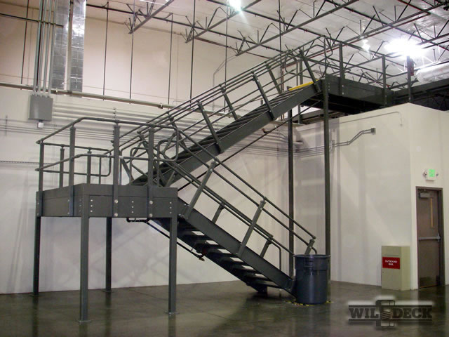 Stair Landings Industrial Stairs Wildeck