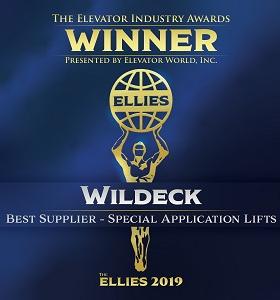Wildeck Elevator Awards 2019 Icon