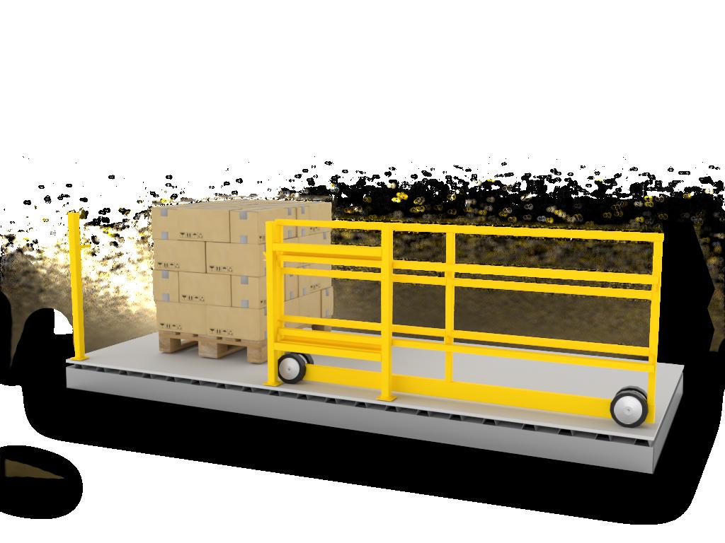 trackless-slide-gate