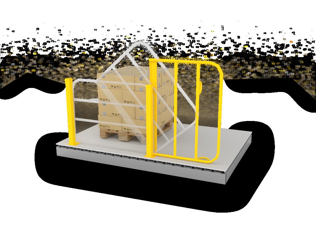 Wildeck Vertical Pivot Gate (PV-4)
